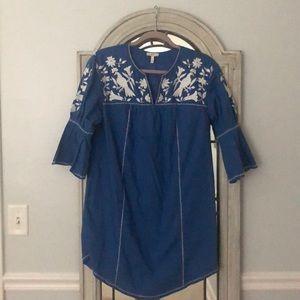 Joie 3/4 sleeve dress xs